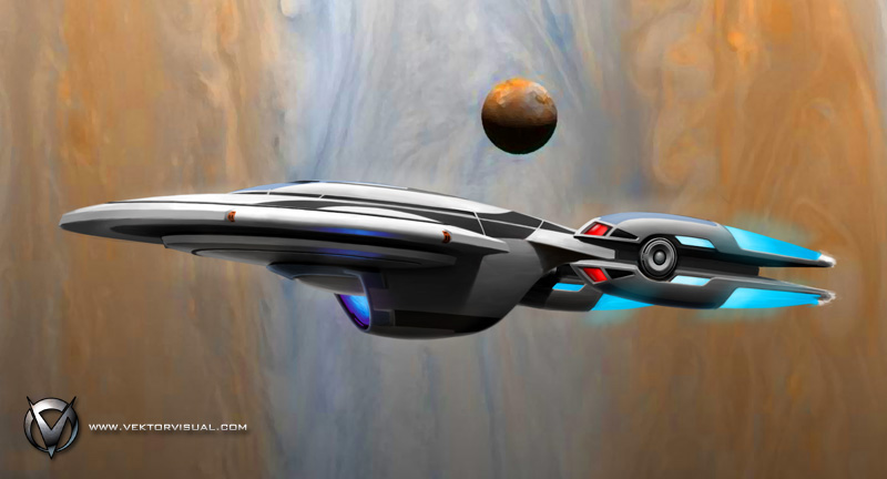 STO Enterprise-F - Jupiter Polar Orbit