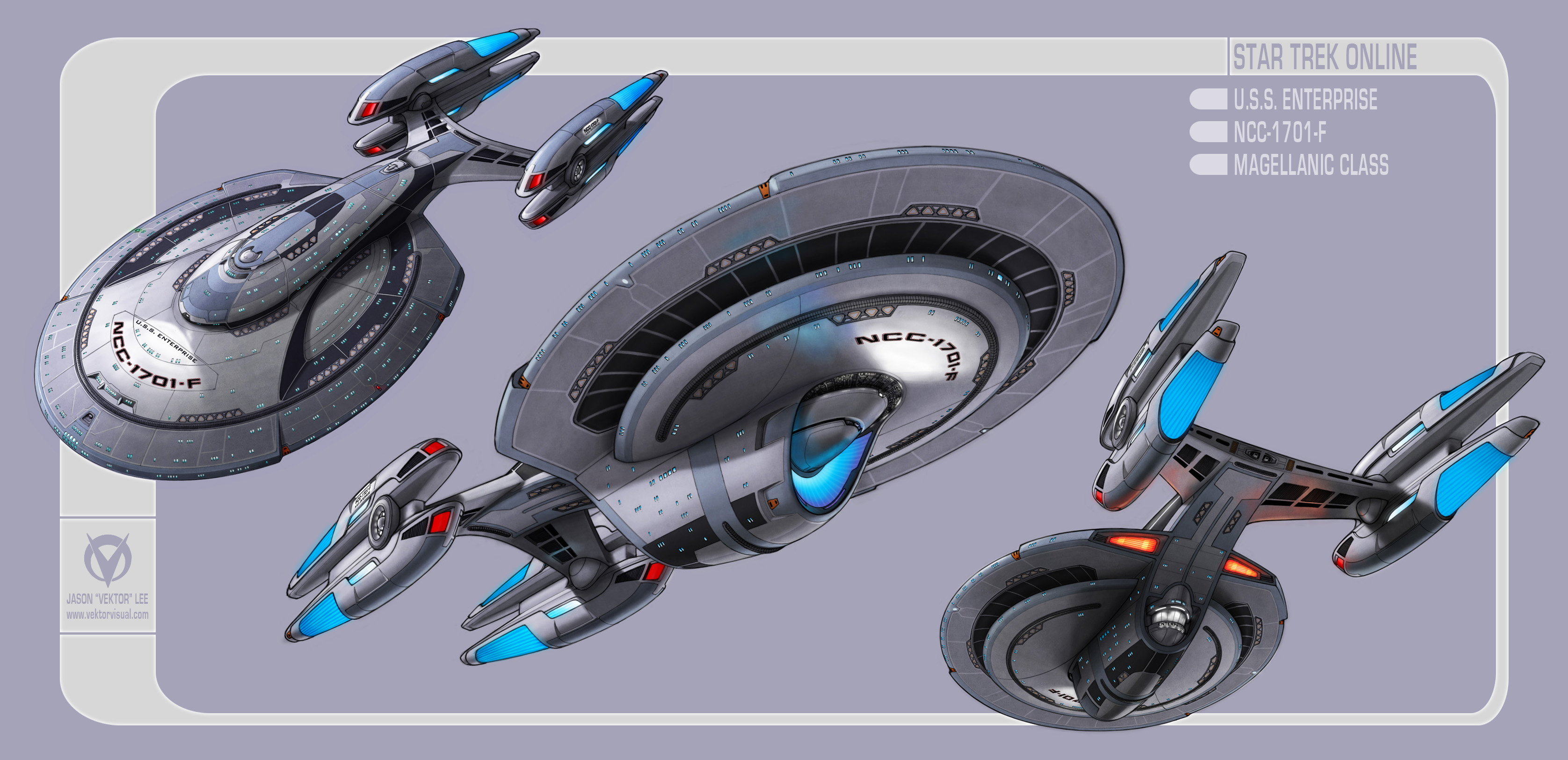 Star Trek Online Design The Next Enterprise Contest Entry Vektor