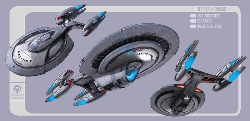 Star Trek Online - Design the Next Enterprise Contest - Final Entry
