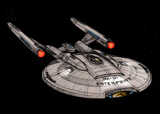 NX-01 Speculative 3/4 View