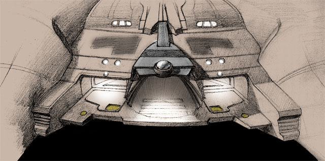 NX-01 Speculative Hangar Detail