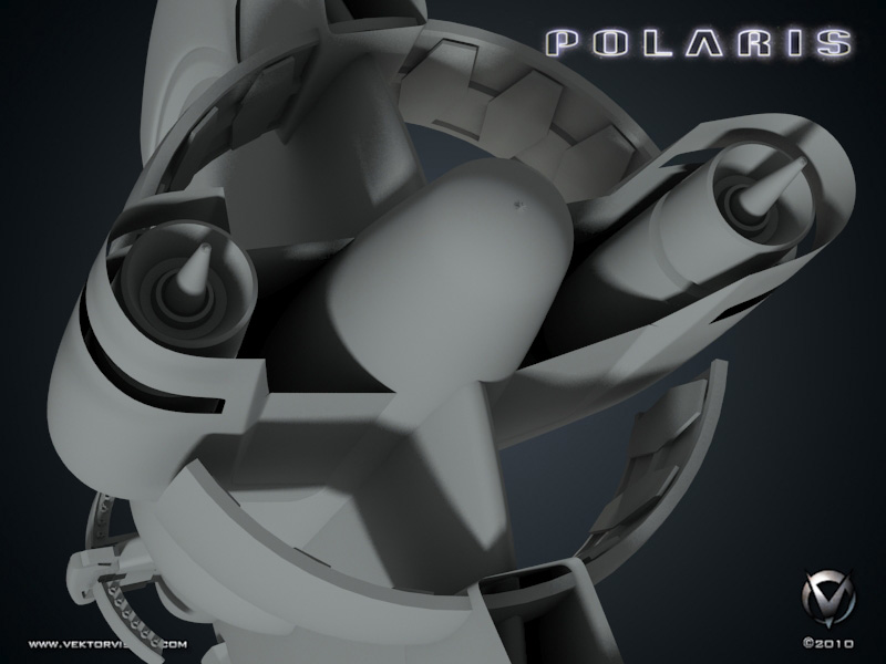 Polaris 3D - Main Engines Detail View