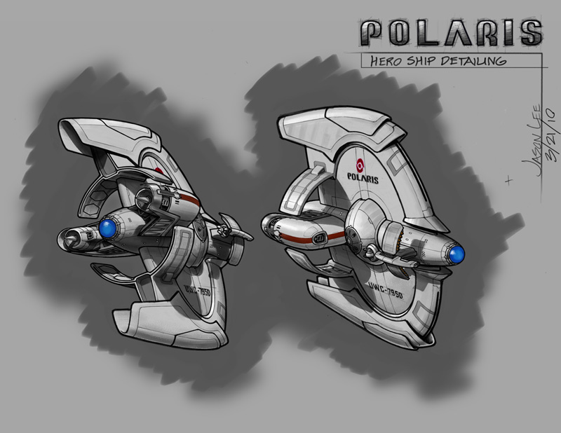 Polaris - Hero Ship Detailing